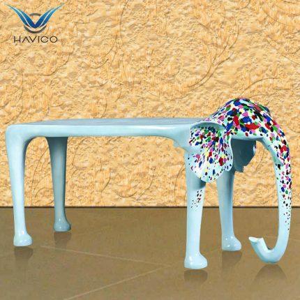 Ghế chờ Composite hình con voi GC012